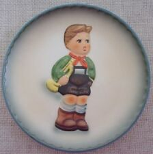 "1984 Schmid Hark the Herald 7 1/2"" Collector Plate Inspired By Berta Hummel"