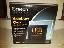 Oregon Scientific RM901 Rainbow Clock 4 soothing Sounds Smart Living