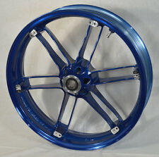 G0110.02A8BYBX, New, Buell Front Translucent Hero Blue Wheel, All XB'S & 1125's