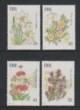 Ireland - 1990, Garden Flowers set - MNH - SG 781/4