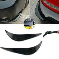 2x Car Accessories Bumper Corner Guard Cover Anti Scratch Protector Sticker
