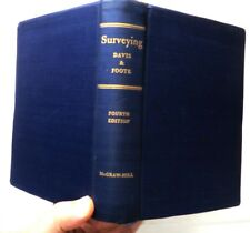 Surveying - 4th ed., Davis & Foote, 1953, MGraw-Hill - VGd