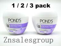 Pond's Hypoallergenic Sensitive Cream Large Size 400g / 14oz ( Choose Quantity )