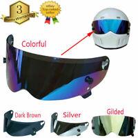Full Open Face Modular Flip Up Visor Motorcycle Street Helmet Fiberglass Bandit