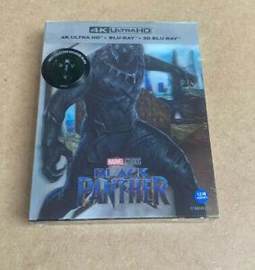 Weet Collection Black Panther 4K Blu-ray+3D Steelbook Neu&OVP