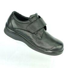 Apex BV3000MW095 Ambulator Biomechanical Black Gel Orthotic Shoes Mens 9.5 WIDE