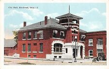 A40/ Blackwell Oklahoma Ok Postcard c1920 City Hall Building