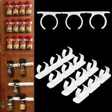 20 Clips Spice Gripper Bottles Jar Rack Holder Storage Wall Cabinet Door Q