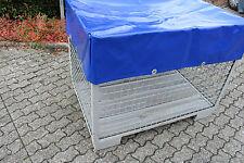 Abdeckhaube für Gitterbox mit Ösen aus ORIGINAL LKW Plane in 680 gr/m²