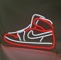Air Jordan 1 Sneaker Neon Sign Light HypeBeast Wall Light Room Wall Decor Gift