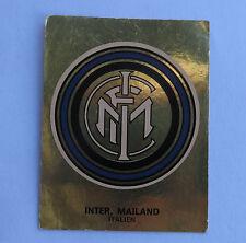 Panini Fussballsticker 1980   Inter Mailand  Gold Wappen Fussballbild