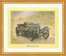 Bentley 1920 Royal London Chassis Green Lights Tyres round Motor Classic Car 04