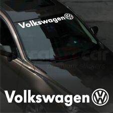 Volkswagen WINDSHIELD CAR Premium STICKER vinyl decal #2 Golf GTi Passat CC