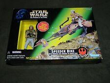 """""""Star Wars"""" New Unopen in box """"Speeder Bike"""" Princess Leia Organa in Endor Gear"""