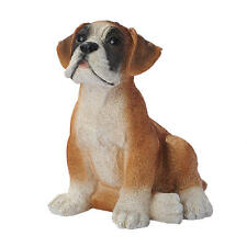 Boxer Puppy Dog Statue Home Canine Garden Sculpture