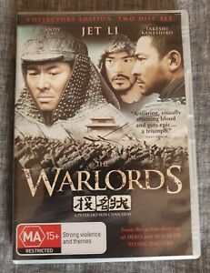 The Warlords (DVD) - Starring Jet Li, Andy Lau & Takeshi Kaneshiro