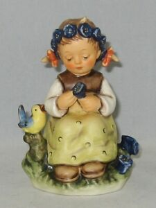 "Hummel Figurine ""THE BOTANIST"" Hum 351 Trademark 7 / NO Box"