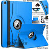 "360 Rotating Leather Smart Stand Case Cover for Apple iPad 10.2"" 9.7"" Pro 10.5"""