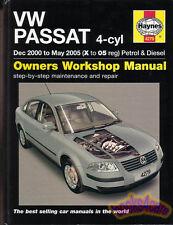 PASSAT DIESEL SHOP MANUAL VOLKSWAGEN SERVICE REPAIR BOOK 2000-2005 HAYNES GUIDE