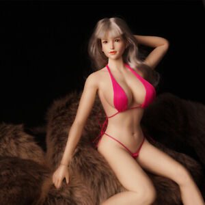 """1/6 Seamless Large Bust Female Action Figure Body for 12"""" PHICEN TBLeague Head"""