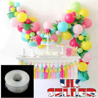 New 5M Balloon Arch Decor Strip Connect Chain Plastic DIY Tape Party Supplies