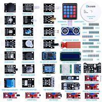 Elegoo Upgraded 37 in 1 Sensor Modules Kit with Tutorial for Arduino UNO R3 MEGA