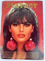 Playboy Magazine December 1966 Gala Christmas Issue w/ Foldout
