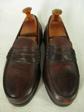 Red Wing Vtg Mens Brown Penny Loafers 9D USA Made