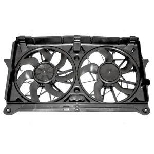 Dual Cooling Fan Assembly fits 05-06 Silverado Sierra Tahoe Escalade Yukon & XL