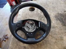 MGF MG F MGTF MG TF BLACK LEATHER STEERING WHEEL