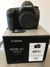 Canon EOS 5D Mark IV with Canon Log 30.4MP Digital SLR Camera - Black (Body...