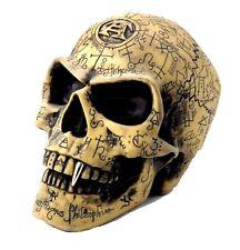The Vault Alchemy Gothic Omega Skull  Alchemist's Carved Symbol Skeleton New