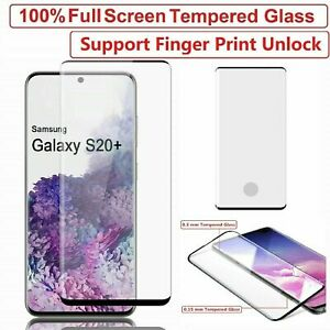 For Samsung S20 S21 + Note 20 Plus Ultra FE 5G Tempered Glass Screen Protector