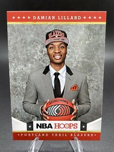 Damian Lillard 2012-13 NBA Hoops #280 Rookie RC