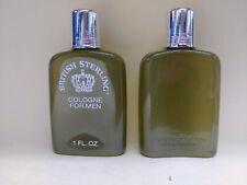( 2 ) British Sterling by Spiedel Textron Cologne .5oz Original Formula