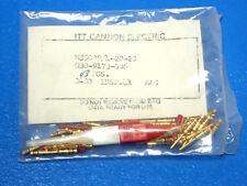 NEW! 43PCS ITT CANNON M39029/4-20-20 MIL SPEC AIRCRAFT CONTACT PIN 030-9173-006