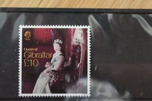 * GIBRALTAR SG1651 Queen of Gibraltar £10 Value Fine MNH Cat £30