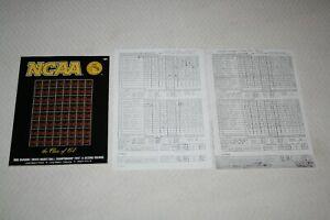 1990 NCAA West Regional PROGRAM + BOX SCORES Loyola Marymount Hank Gathers Death