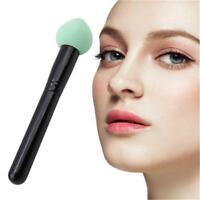 Professional Womens Girls Makeup Sponge Head Puff Smooth Powder With Handle q