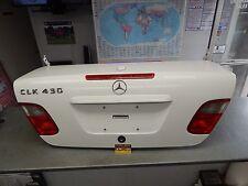 208 CLK430 CLK320 CLK55 CONVERTIBLE REAR TRUNK DECKLID WHITE