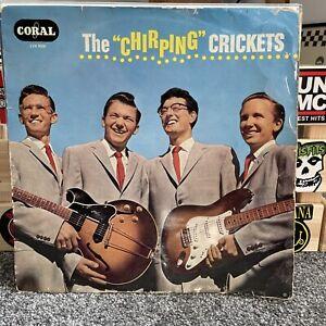 "Buddy Holly The ""Chirping"" Crickets Vinyl UK 1957 Vogue Coral 1st Press 1B/1B LP"