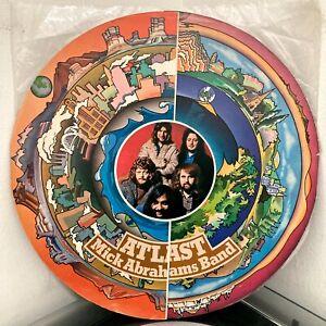 MICK ABRAHAMS BAND At Last LP 1972 Chrysalis ORIG UK VG+ Jethro Tull Blodwyn Pig