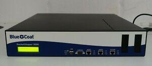 Edgeblue Blue Coat PacketShaper PS3500-CS Webpulse Network Optimization 3500