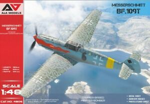 A&A Models 4806 1:48th scale Messerschmitt Bf-109T Carrier-based fighter-bomber