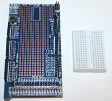 SCHEDA COMPATIBILE ARDUINO MEGA 2560 PROTO SHIELD V3 BASETTA MILLEFORI PCB PCE