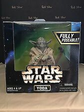 Star Wars Action Collection Yoda 12 inch scale action figure by Kenner sealed