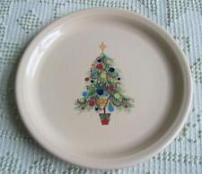 Homer Laughlin Fiesta Ivory Christmas Tree Plate