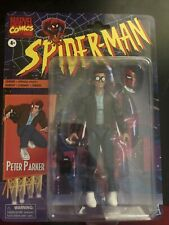 "Retro Marvel Legends Peter Parker 6"" Spider-Man Series Carded Figure"