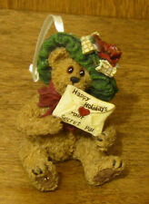 Boyds Ornaments #25742 Mystery Bearlove.Special Wishes, Nib From Retail Store