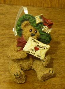 Boyds Ornaments #25742 Mystery Bearlove...Special Wishes, NIB From Retail Store